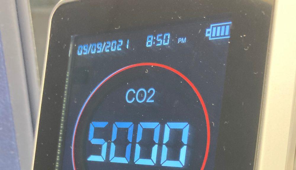 二酸化炭素濃度5000ppmでカンスト~塾は「換気できていない」という事実、そして解決方法は?